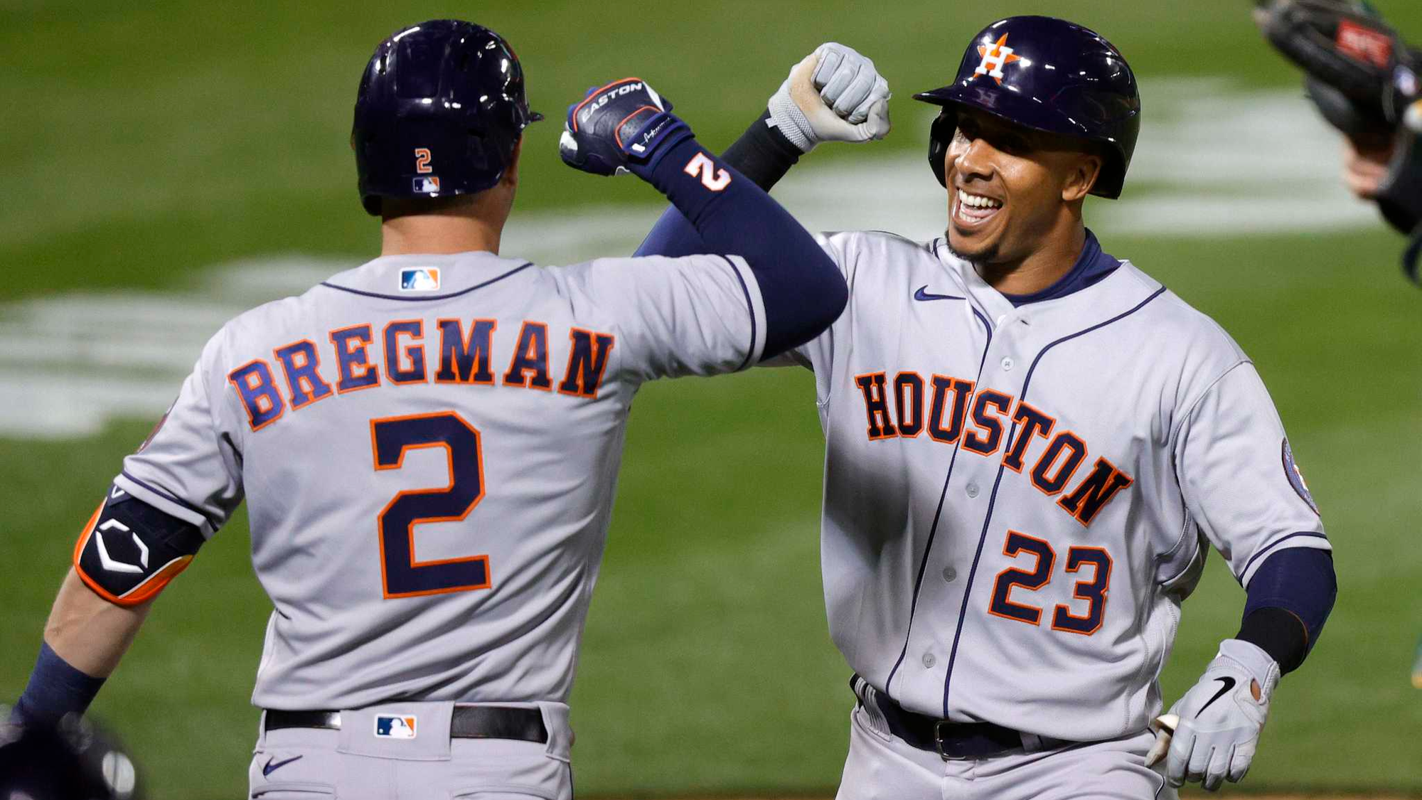 Greinke Gives Astros the Edge As Houston Hopes to Split Series With Angels
